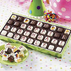 Personalized Mini Birthday Petits Fours Gift Box