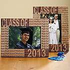 Personalized Wood Laser Engraved Graduation 5x7 Frame
