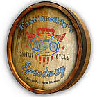 Personalized Motorcycle Quarter Barrel Sign