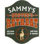 Hunter's Retreat Personalized Pub Sign with Deer