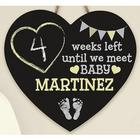 Personalized Can't Wait for Baby Chalkboard