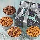 Dancing Reindeer Nut Quartet Gift Box