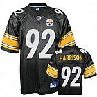 James Harrison Pittsburgh Steelers Replica Jersey in Black