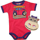 Drool-Proof Bibs and Babysuit Set