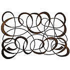 Swirl Design Metal Wall Art