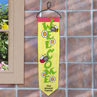 Spring Bees Personalized Welcome Banner