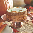 Hammered Coppertone Cake Stand