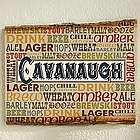 Alehouse Personalized Basswood Wall Plaque