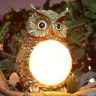 Solar Powered LED Owl