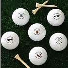 Groom's Last Round Personalized Wedding Golf Balls