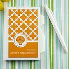 Personalized Bridal Shower Notebook Favors
