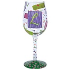 """L"" Wine Glass"