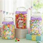 Personalized Easter Glass Candy Jar