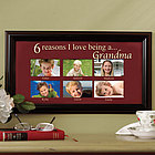 "Personalized ""Reasons I Love"" Photo Frame"
