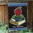 Personalized Back to School Garden Flag