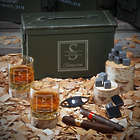 Oakhill 50-Caliber Personalized Ammo Box Gift Set