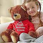 Personalized Teddy Bear in Hoodie