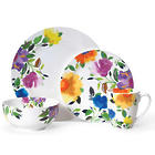 Provence Garden 32 Piece Porcelain Dinnerware Set