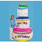 Jumbo Inflatable Birthday Cake