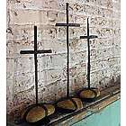 Recycled Metal Cross Trio