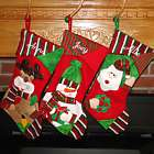 Trimming the Tree Friends Personalized Christmas Stocking
