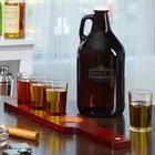 Kensington Custom Growler and Whiskey Flight Set