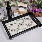 Monogram Personalized Serving Tray