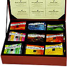 Shangri La Organic Tea Sachets in Leatherette Presentation Box