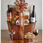 Perfect Pairing Wine and Chocolates Gift Basket