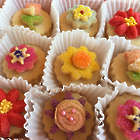 Flower Buttercream Sandwich Cookies