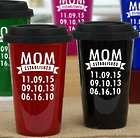 Personalized Mom Established Years Travel Mug