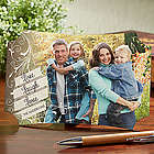 Live, Laugh, Love Personalized Photo Tabletop Plaque