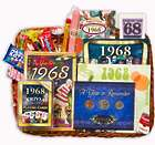 50th Anniversary or 50th Birthday Gift Basket for 1966