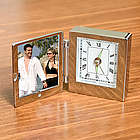 Personalized Picture Frame and Desk Clock