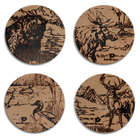 Mossy Oak Animal Print Coasters