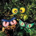 3 Haunted Hedge Eye Garden Decorations