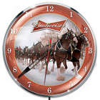 Budweiser Clydesdale Illuminated Wall Clock