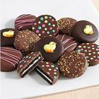 12 Easter Chocolate-Covered Oreo Cookies