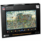 Philadelphia Eagles Joe Journeyman Jigsaw Puzzle