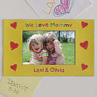 Loving You Personalized Photo Magnet Frame