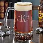 Personalized Midas Gold Rim Beer Mug
