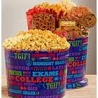 University of Snacks Gift Tin Popcorn and Snack Assortment