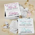 Personalized Baptismal Prayer Keepsake Box