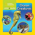Kids Look and Learn Ocean Creatures Book