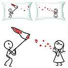 Catch My Love Pillowcases