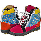 Multicolored Tennis Shoe Boots
