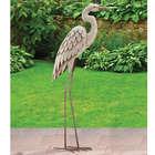 Elegant Egret Garden Sculpture