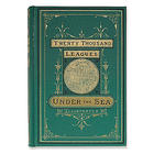 First Edition Replica Twenty Thousand Leagues Under the Sea Book