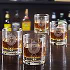 Personalized Byrne Oxford Whiskey Glasses Set