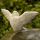 Flutter Garden Statue